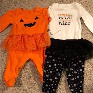 Newborn Halloween set